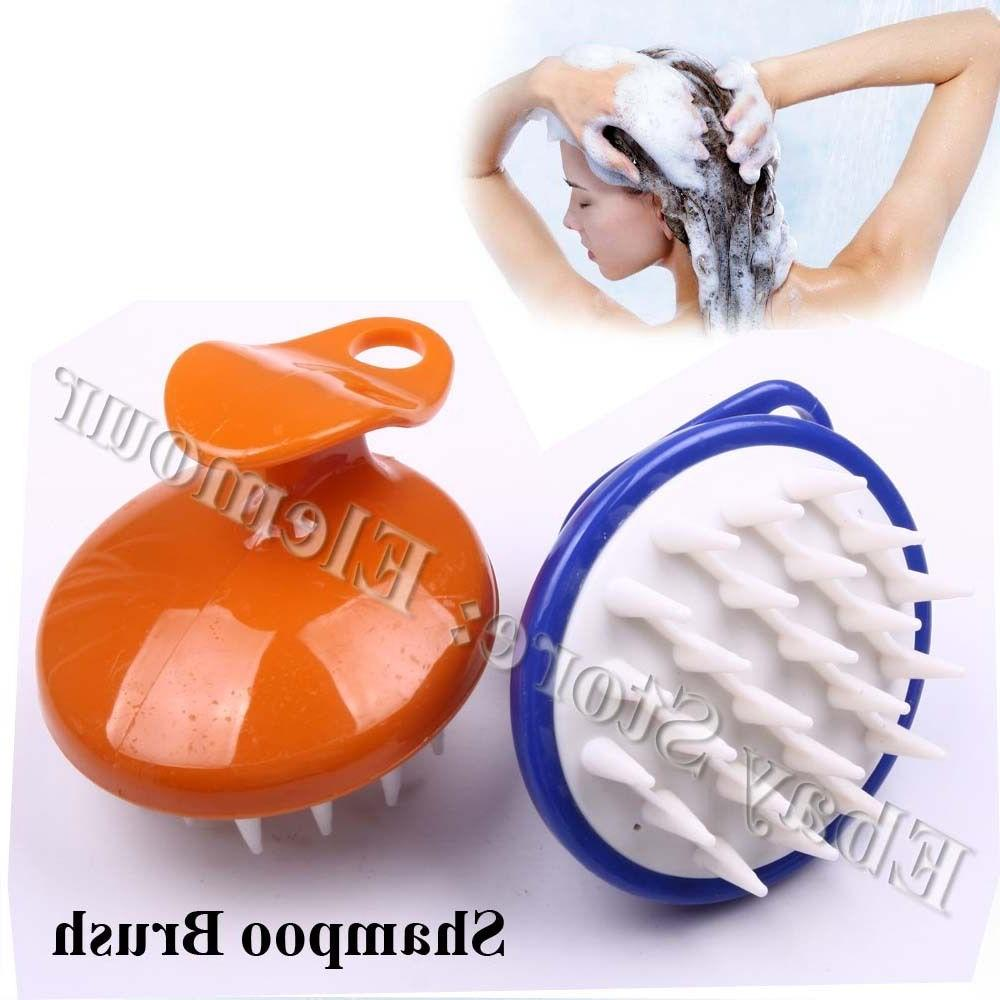 Hair Shampoo Brush Scalp Clean Massage Massager Comb Head Ca