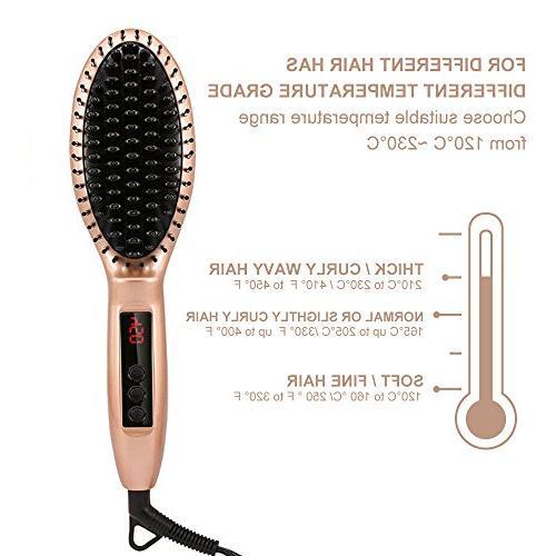 Comb Hair 30-min Auto Shut Features, LCD Push Button