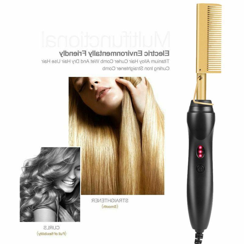 Hair Irons Straightening