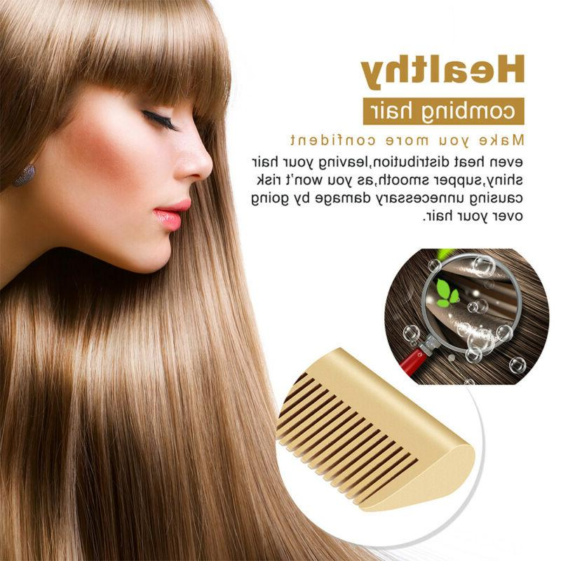 Hair Straightening Heating