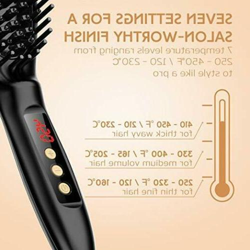 USpicy Hair Straightening Hair MCH heating