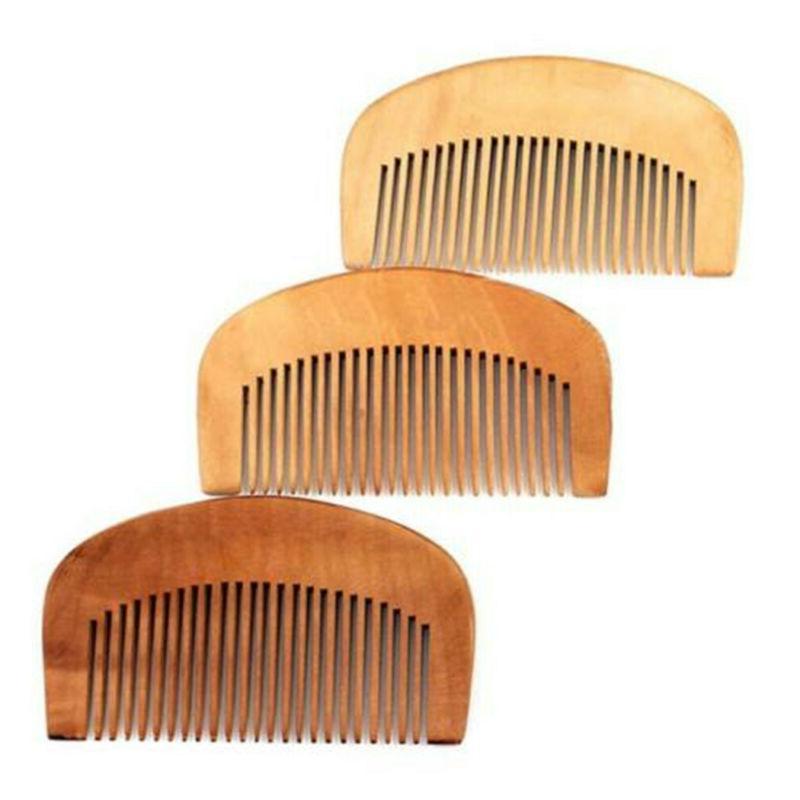 Beauty Mustaches Fine Teeth Peach Wood Beard