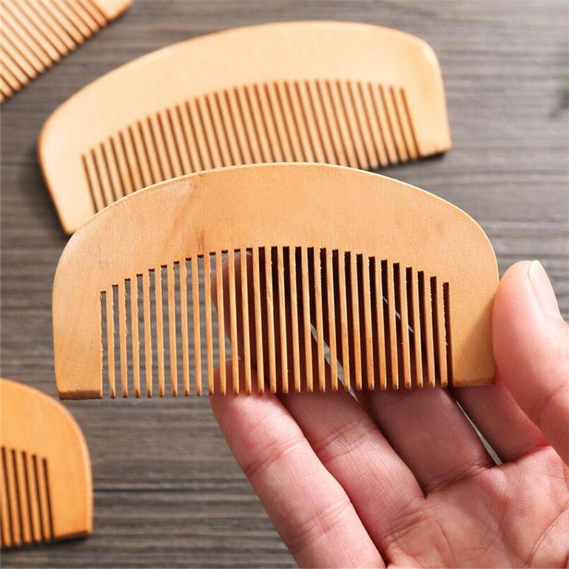 Beauty Fine Coarse Wood Comb