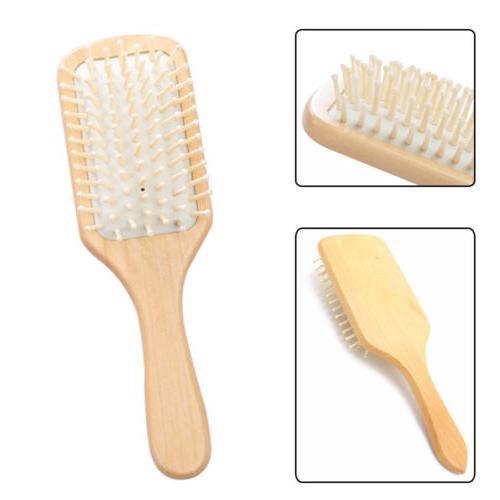 Handmade Natural Head Scalp Spa Vent Brush Unisex