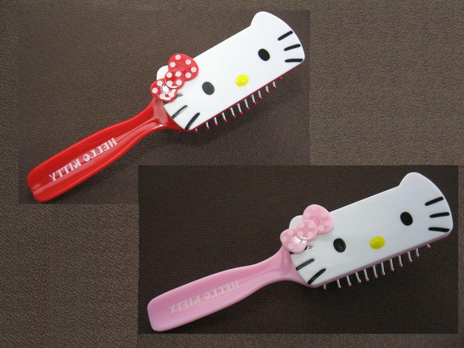 hello kitty 7 anti static hair brush