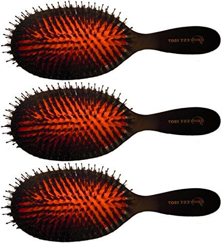 Goody Heritage Hair Brush, Classic Cushion for Luxurious Smo