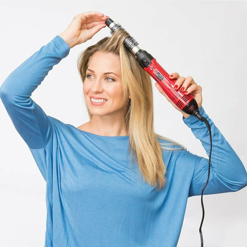 Revlon Hot Hair Air Brush Dryer Styler Round Hair Ionic Curl