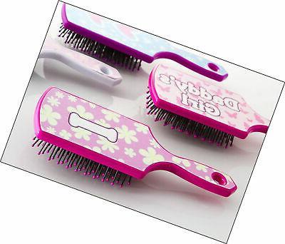 i letter hairbrush