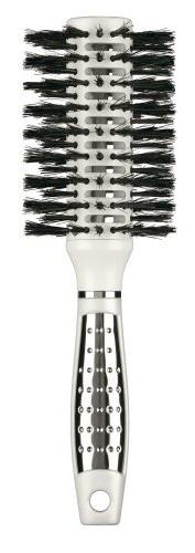 Infiniti by Conair Nano Silver Vented Mixed Boar Round Brush