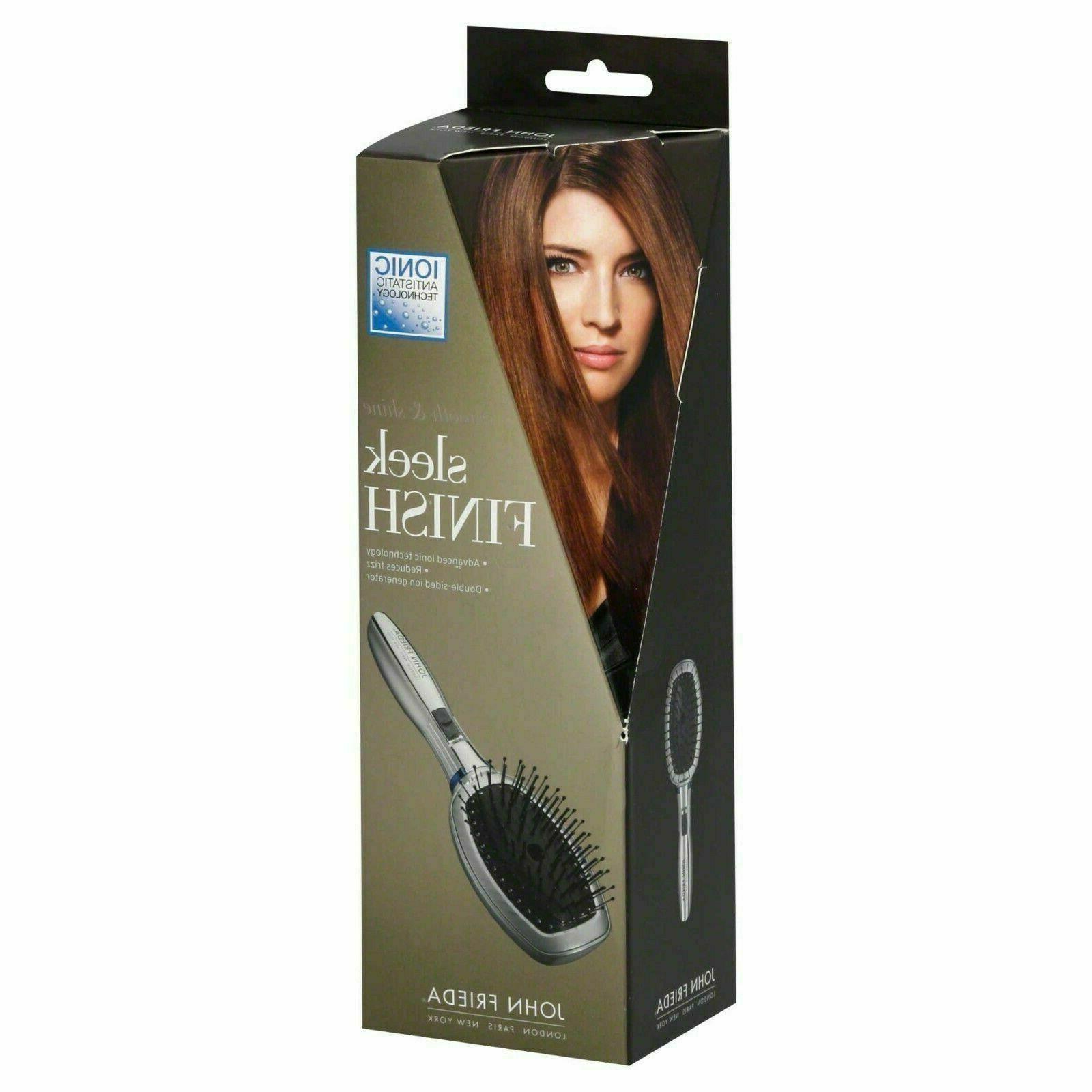 ionic antistatic conair hair brush new in
