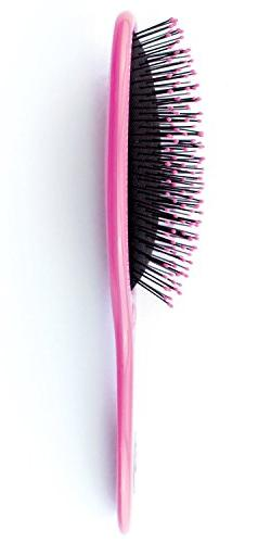 JHB Hair Brush is the hair or thin hair, no pain for in Pink