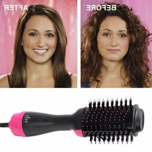 Lady Hair Dryer Negative Ion Hair Curling Brush Styling Tool