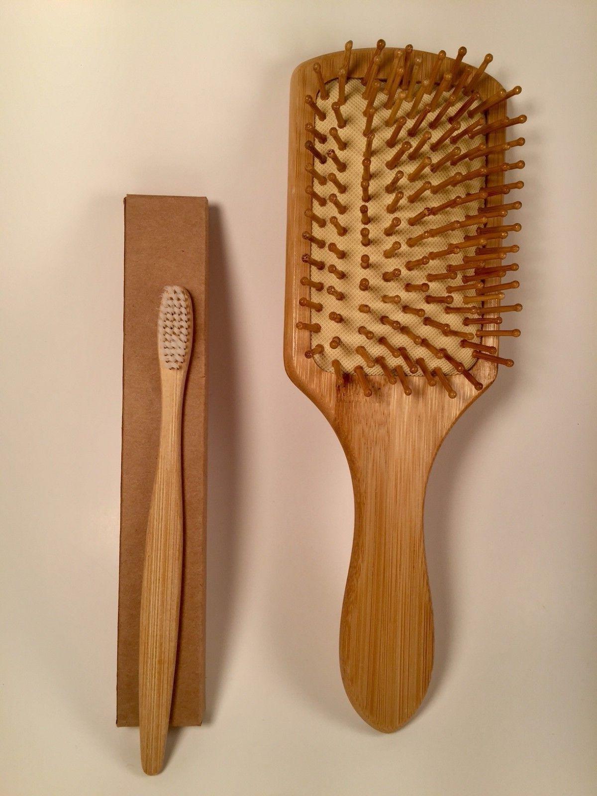 Large Paddle Brush Wood ECO FRIENDLY