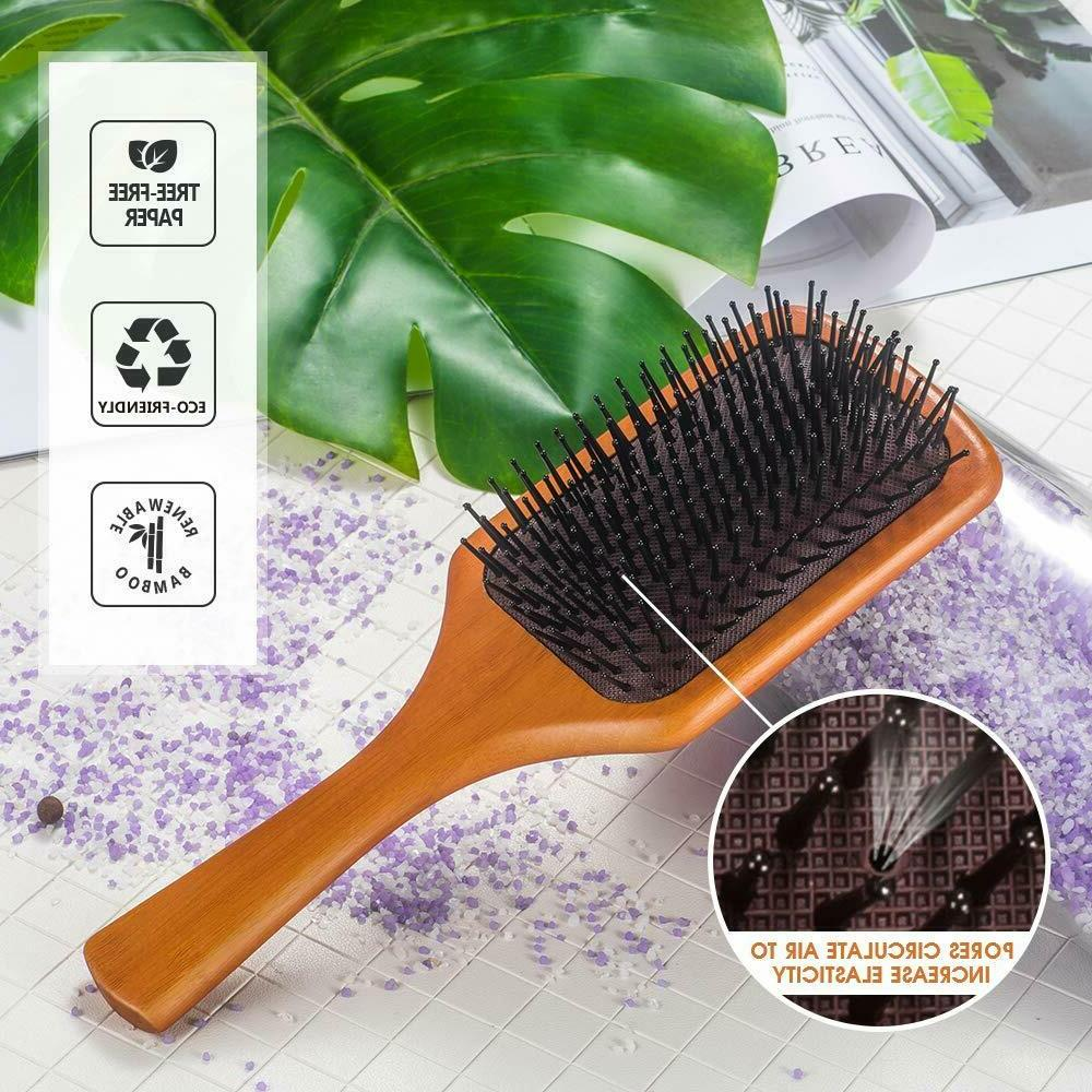 Large Paddle Hair brush Cushion Straightening