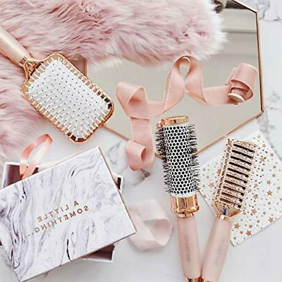 Lily England Rose Gold all Hair Brush Set Luxury Professiona