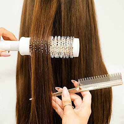 Brush Blow Barrel Hairbrush Set Comb