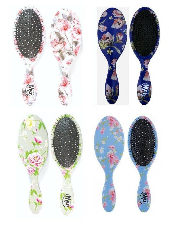 limited wet brush detangler hair brush vintage