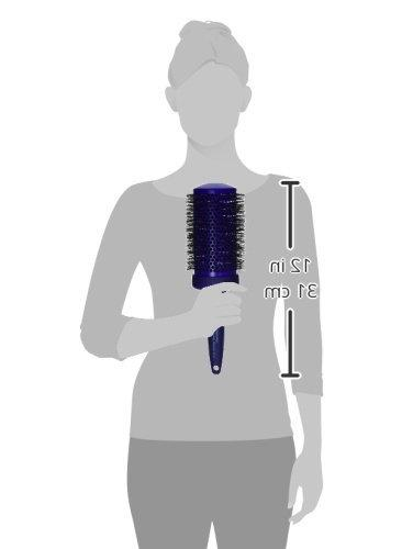 Spornette Brush Crimped Ionic Extended Ceramic Barrel for Waving Curling Long Hair