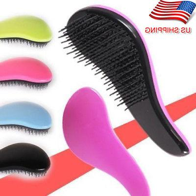 Magic Salon Styling Detangling Handle Tangle Hair Brush Comb