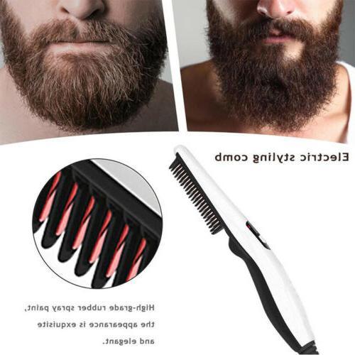 Men Electric Beard Comb
