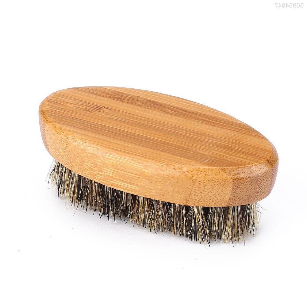 Men's Boar Beard Mustache Military Wood Comb