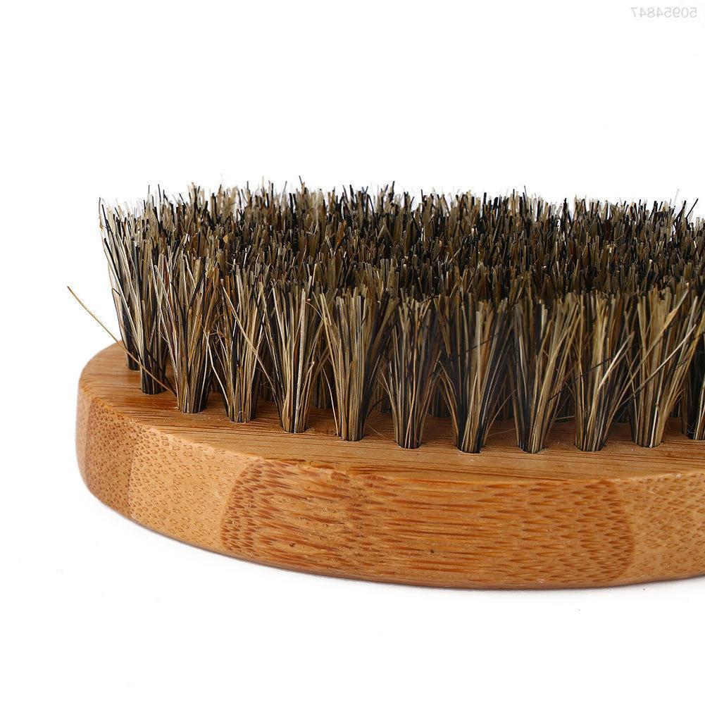 Men's Hair Bristle Beard Comb