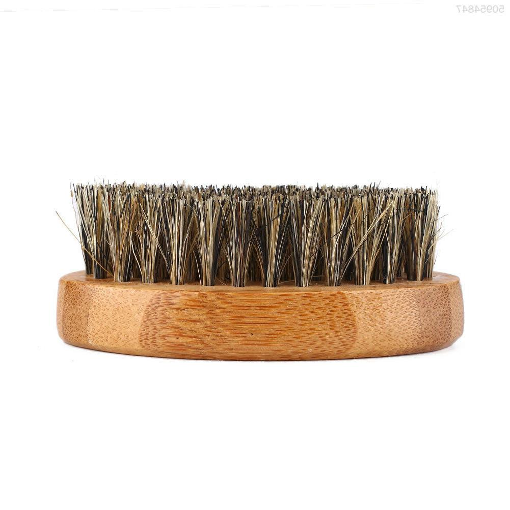 Men's Hair Beard Mustache Military Wood Comb