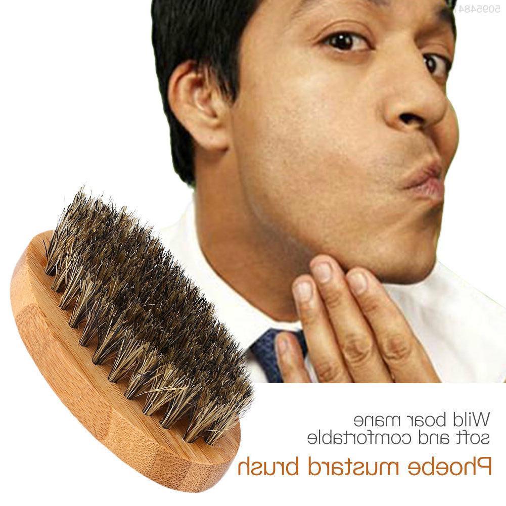 men s boar hair bristle beard mustache