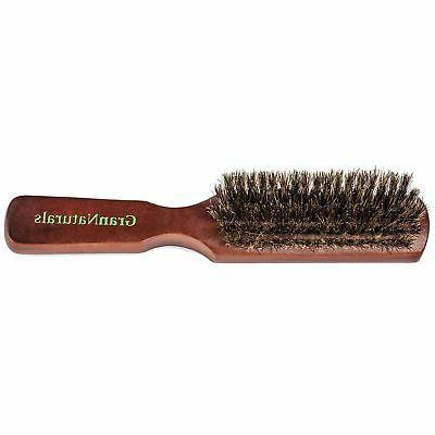 GranNaturals Mens Boar Hair Natural St...