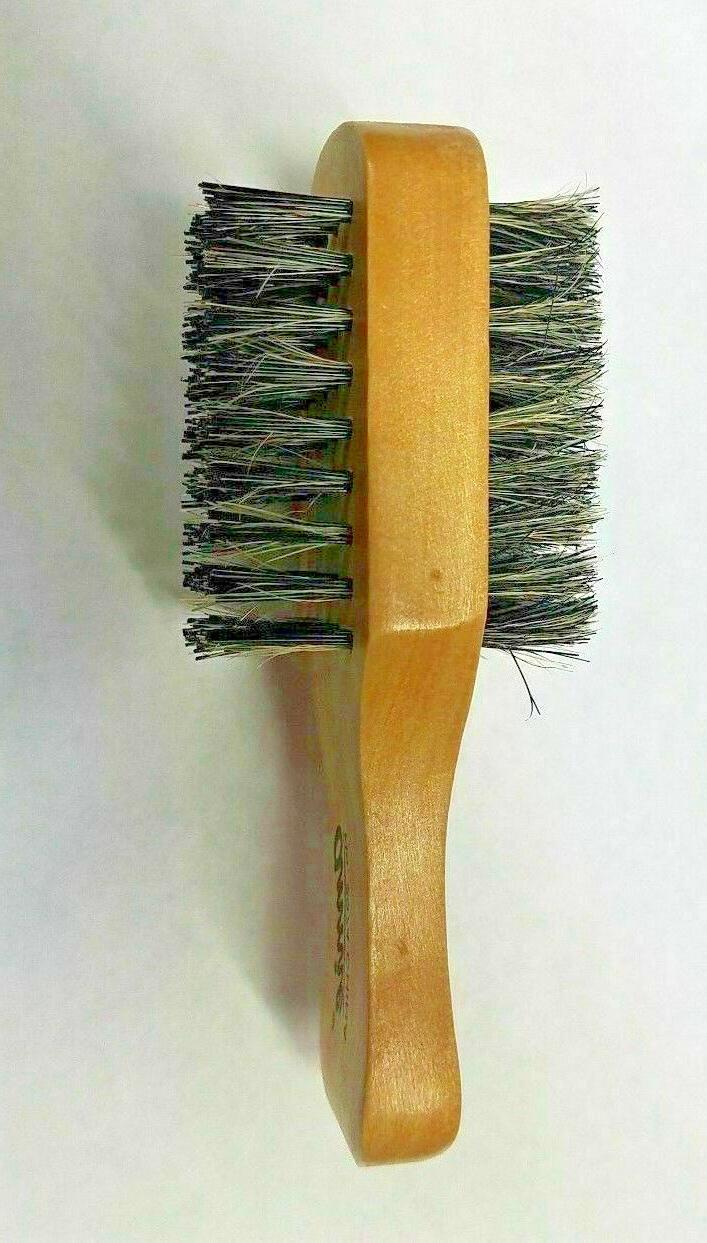 Annie Mini Brush Bristle Double Two Sided Hard Soft Club Hai