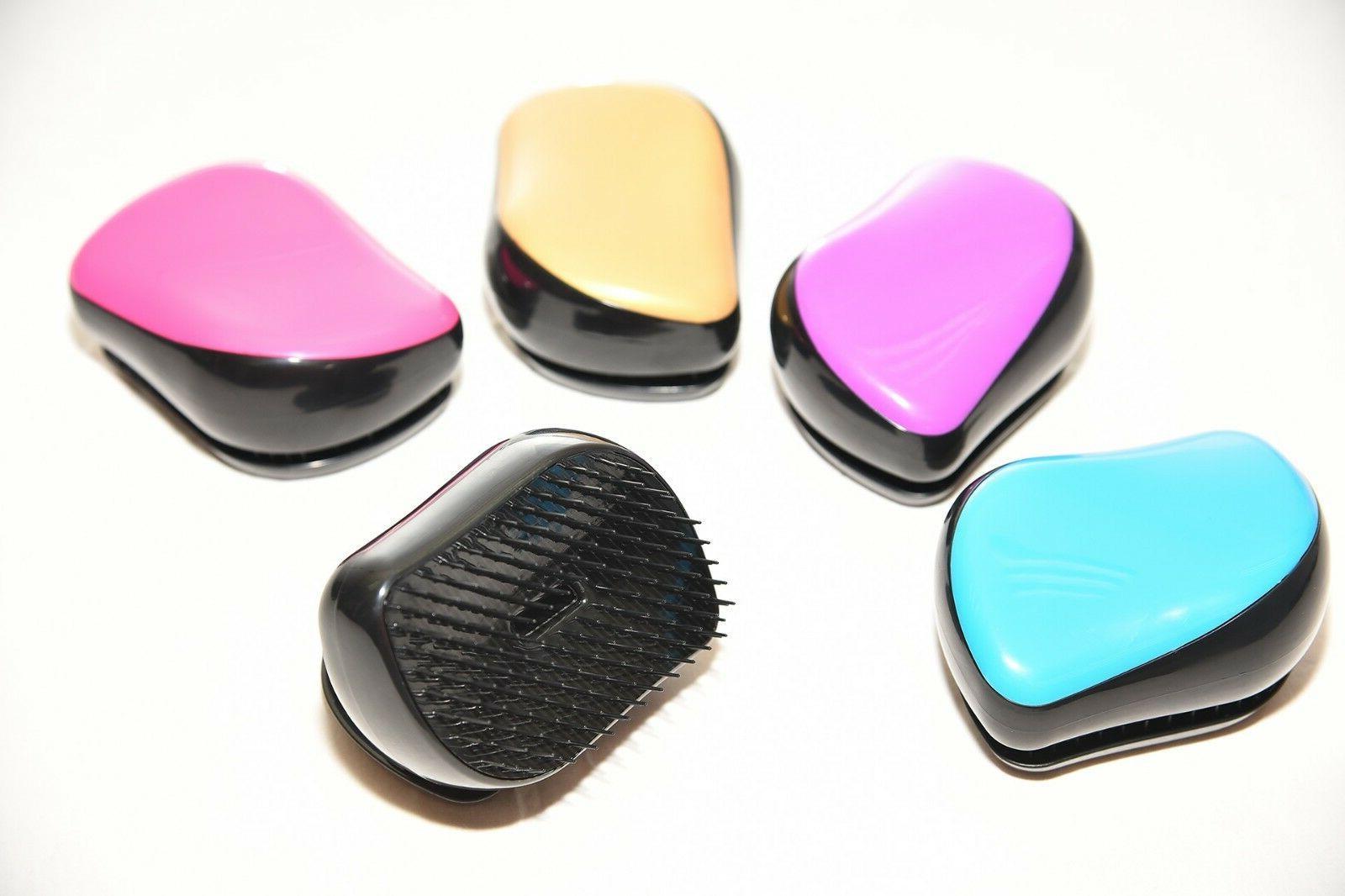Mini Detangling Brush Thru Detangler Hair Comb or - No More Tangle