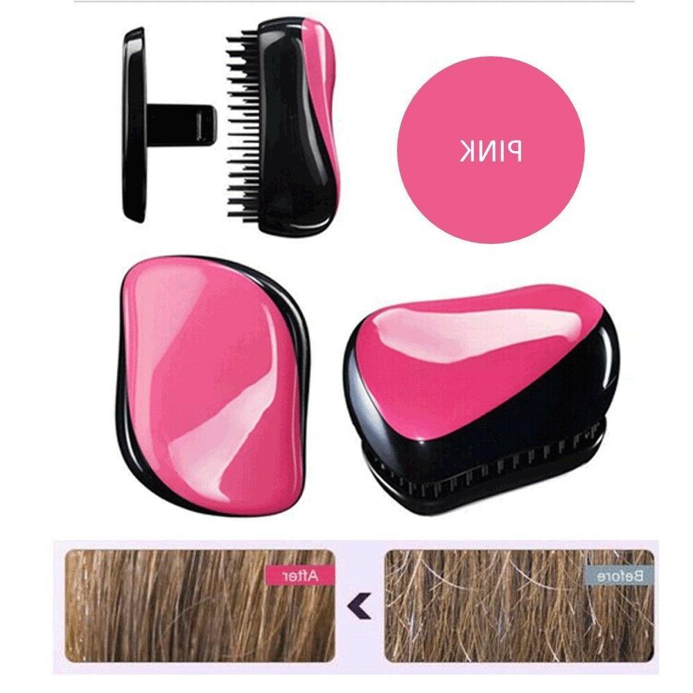 mini detangling brush glide thru detangler hair