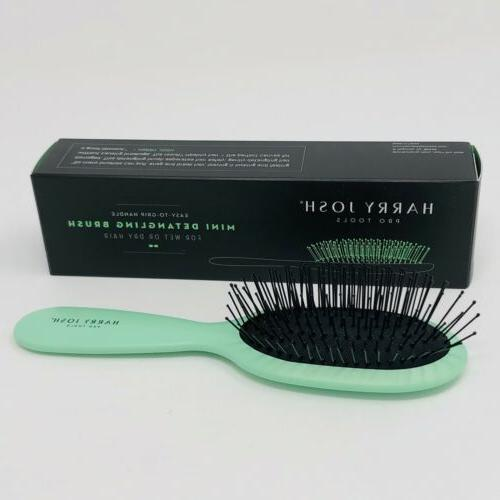 mini detangling brush wet or dry hair
