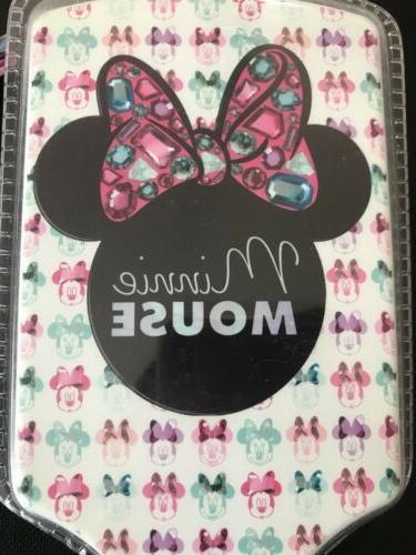 Disney Minnie Paddle Hair Brush Plastic Bed NWT