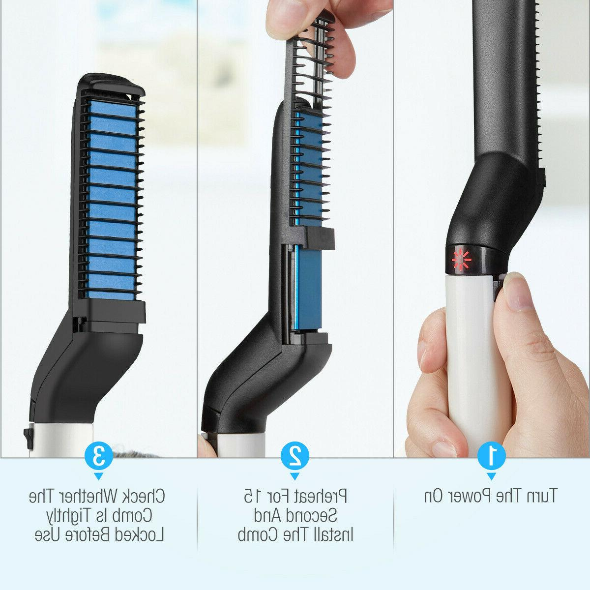 Multifunctional For Men Comb Brush Beard