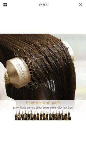 SUPRENT Nano Thermal Ceramic Ionic Round Hair Brush with