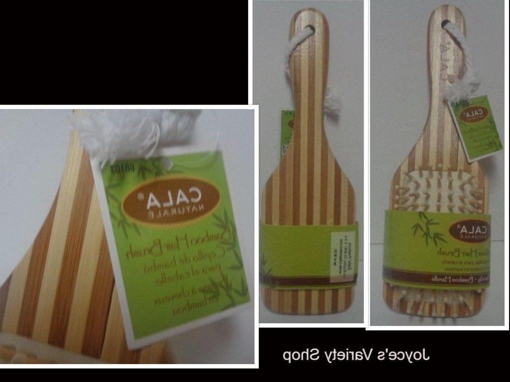 Cala Bamboo Hair Brush NWT Free