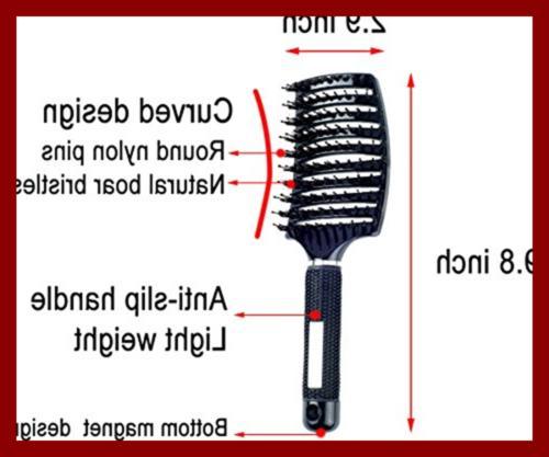 Brush Vented Detangling Blow Dry Long