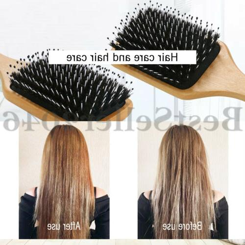 Natural Boar Hair Brush Cushion Large