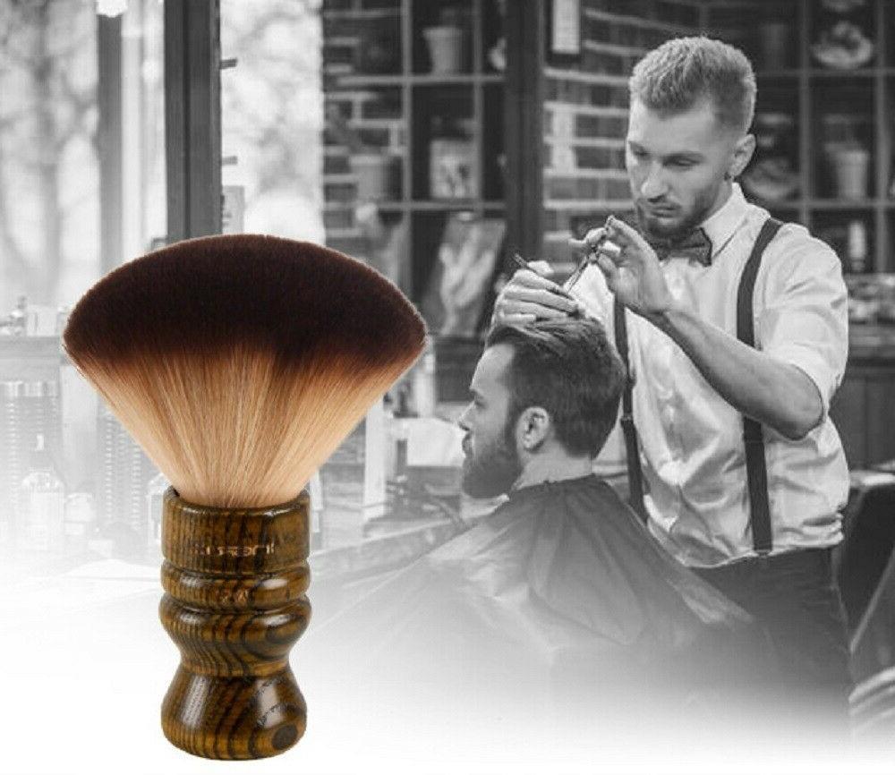 Neck Salon Stylist Barber Cutting Up Body