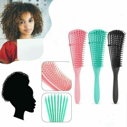 New Brush Hair Combing Brush With Wet/Dry Natural Hair