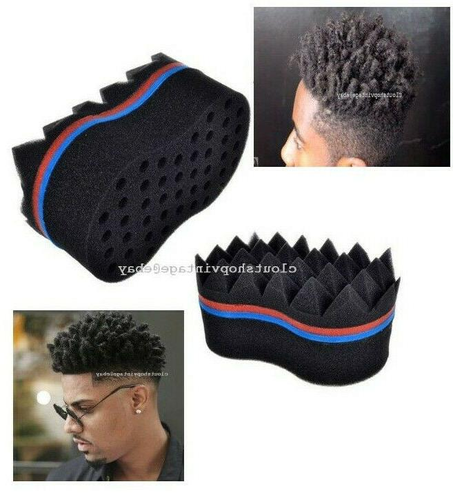 new hair sponge brush twist curl
