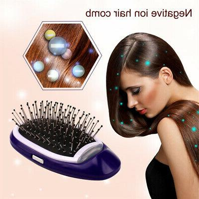 NEW Ionic Hairbrush Takeout Combs Anti-frizz Hair Brush Mass