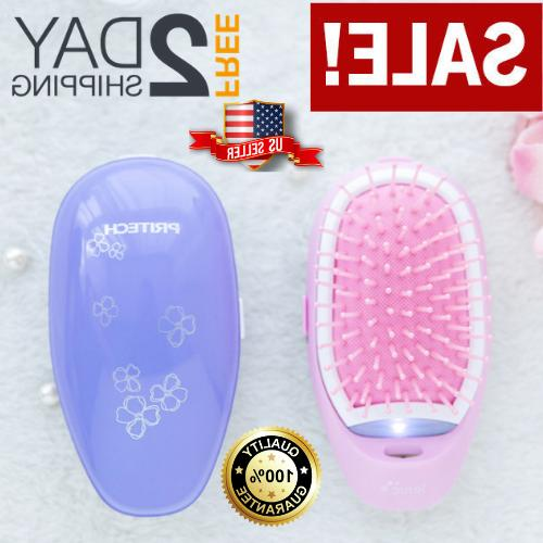 new ionic hairbrush takeout combs anti frizz