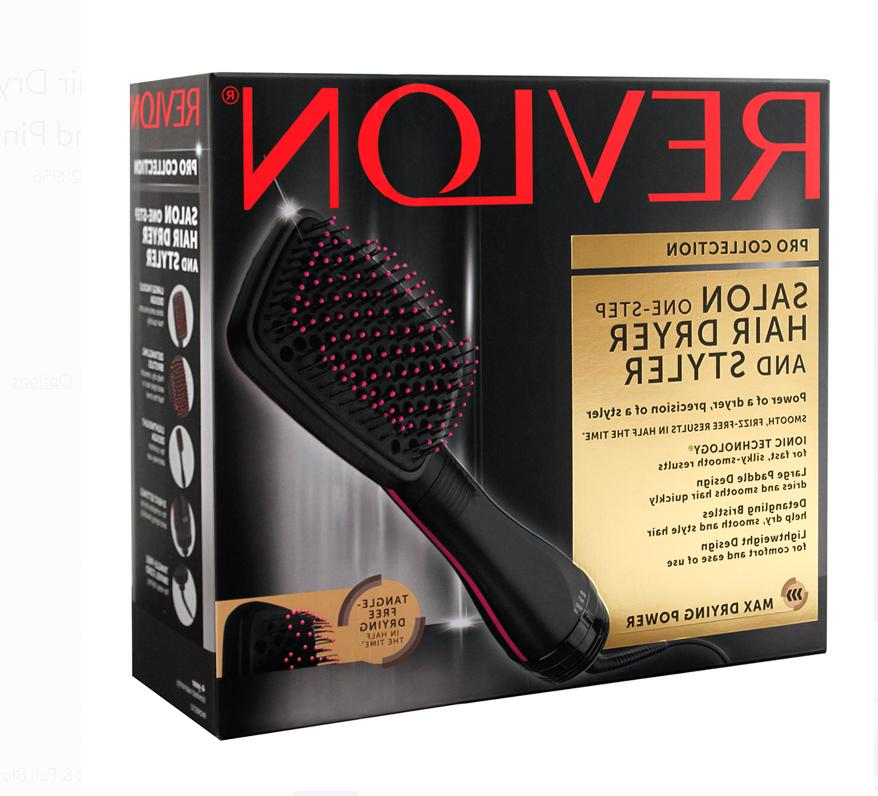 New Revlon Large Paddle Brush Hair Dryer Styler Tangle Free