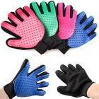 new magic pet grooming gloves brush dog