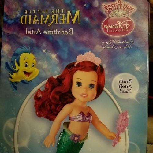 New My First Princess Bath time Full Size Doll Bath