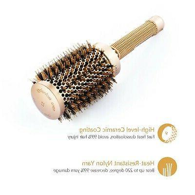 New Barrel Hair Brush Boar Brist