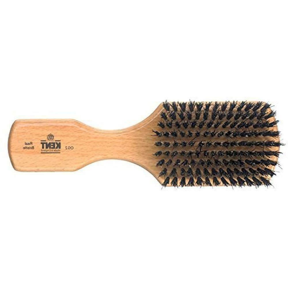 "New Kent Wood 7 1/2"" Beard Black Bristle"