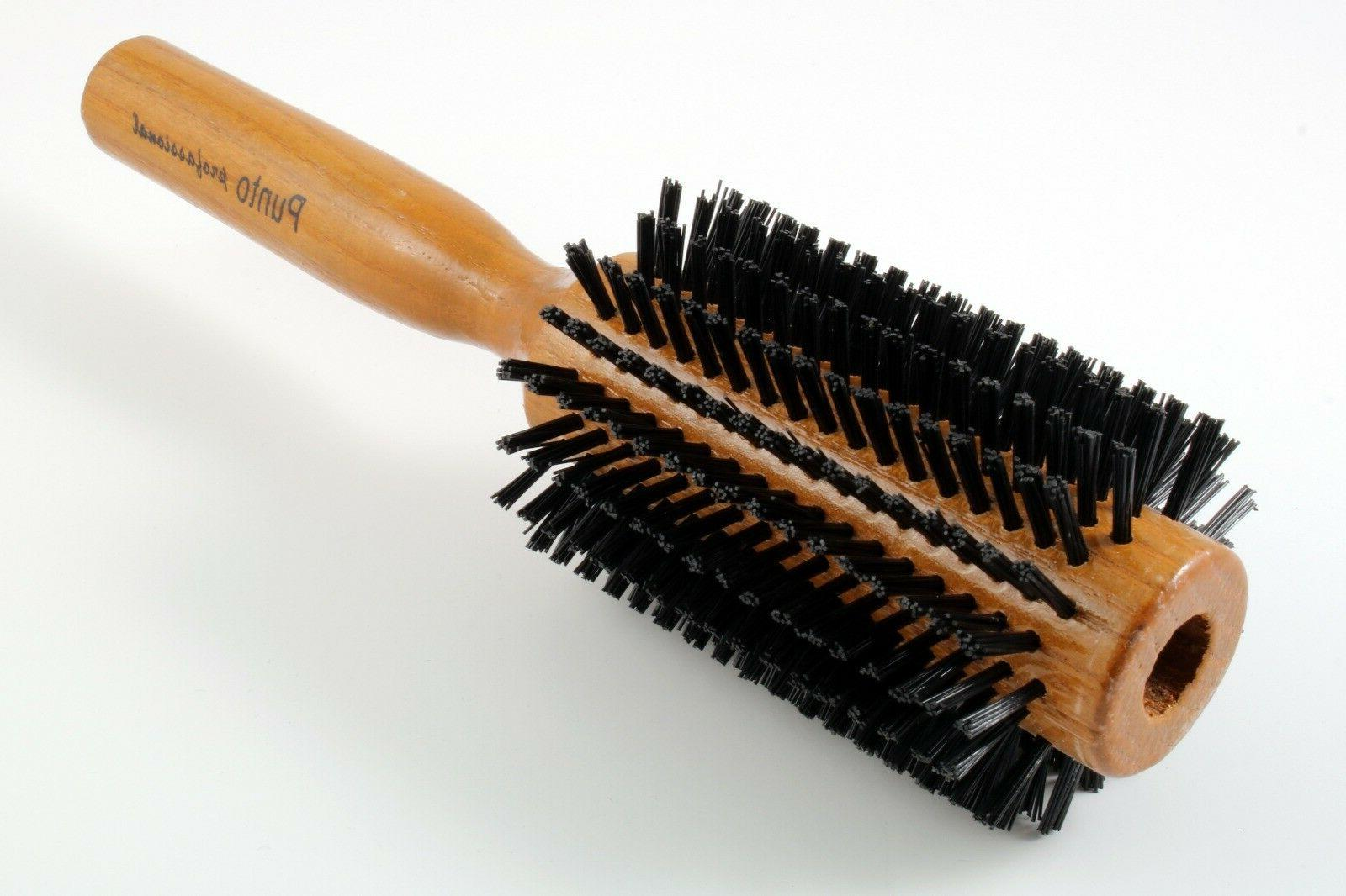 NEW HAIR STYLING ROUND BRUSH HANDLE MADE TURKEY